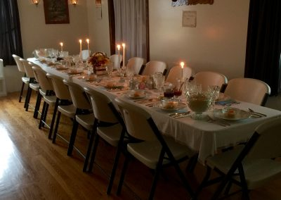 Private Amish _Wedding_ Dinner